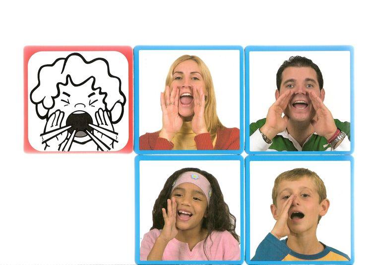 Thema emoties en gevoelens:  Råbende