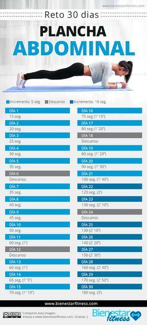 reto plancha 30 días  http://www.bienestarfitness.com/ejercicios/reto-plancha-30-dias/  #reto #fitness #plancha #abs #plank #plancha #abdominales