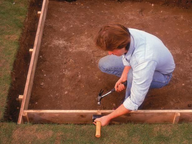 Instructions on how to lay a concrete slab! For more great DIY projects visit http://www.handymantips.org/category/diy-projects/