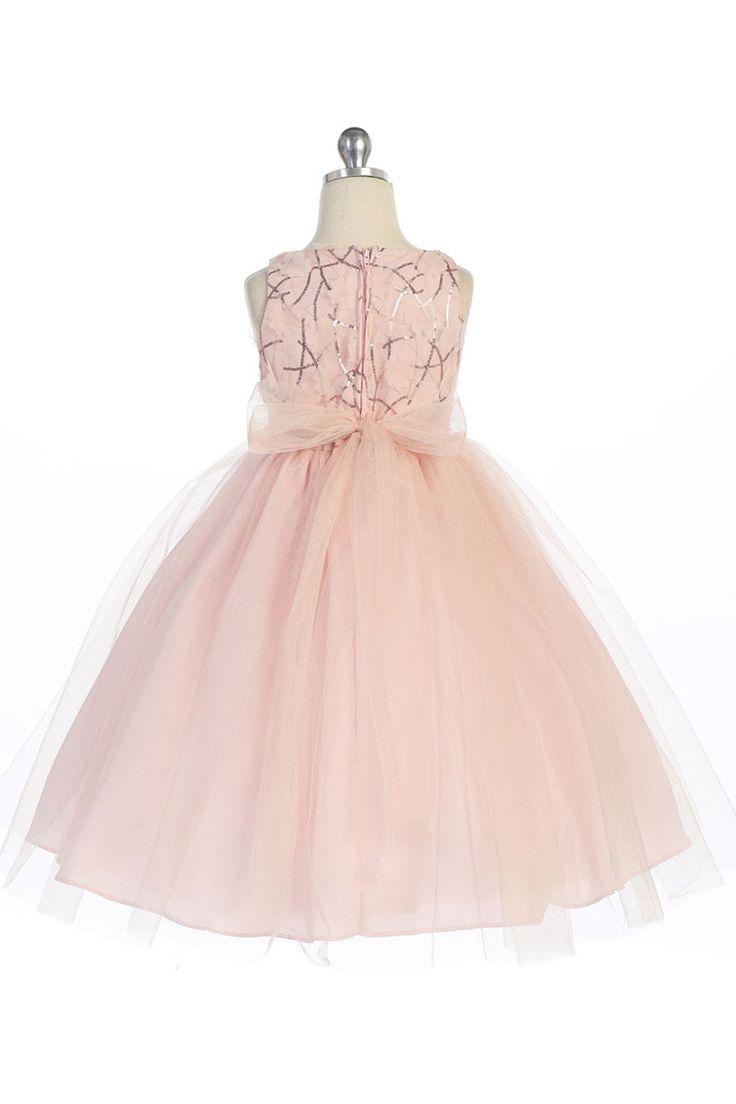 Mejores +25 imágenes de CORAL FLOWERGIRL DRESSES en Pinterest ...