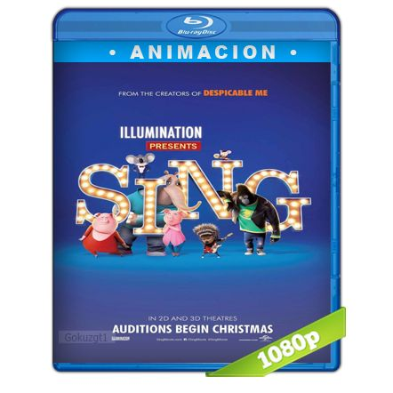 Sing Ven Y Canta HD1080p Lat-Cast-Ing 5.1 (2016) - Tipeo