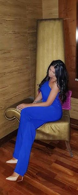 CRISTALLINI #Jumpsuit #EveningStyle #RoyalBlue