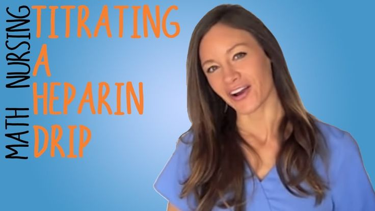 Caroline Porter, RN presents a thorough explanation with clear examples of heparin drip and heparin titration. Taking the medical calculation drug exams can be nerve wrecking, but after watching this, you can get more confident in passing!