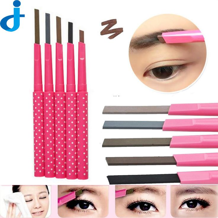 1 ST Waterdichte Shadow Wenkbrauwpotlood Kit Cosmetica Brow Pen Vrouwen Shaper Make Liner Poeder/Eye Brow Card Tool 11 Kiest H90