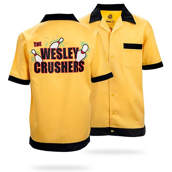 ThinkGeek :: The Wesley Crushers Bowling Shirt    I can't be the only one who wants this, right?!