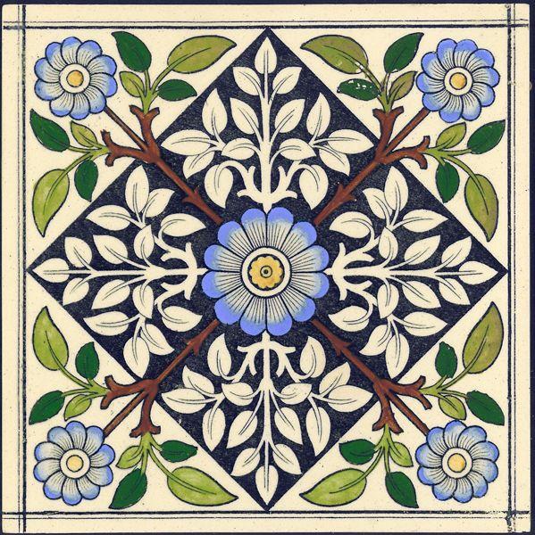 West Side Art Tiles - 4488n552p0 - English Tile