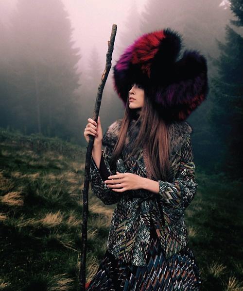 Yulia Kharlapanova by David Dunan for Vogue Turkey November 2010