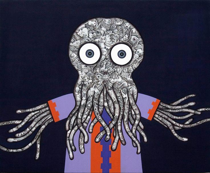 Sergio Scalet - Cthulhu illustration - #vaffancthulhu #MassoneriaCreativa - www.massoneriacreativa.com