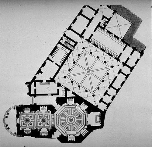 Santa Maria Della Pace, plan