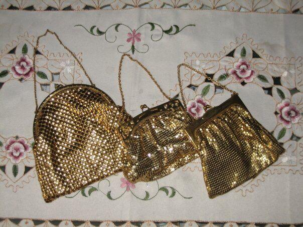 Vtg dainty purses