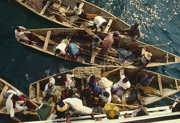 Lake Tanganyika: climbing onboard the MV Liemba