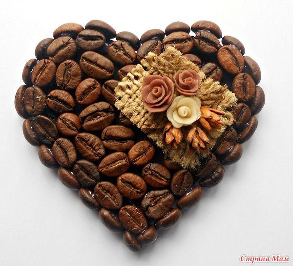 Первая партия магнитов из кофе.
