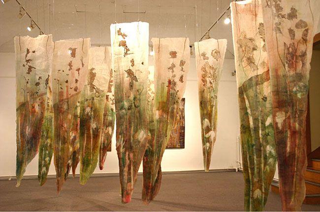Fen installation in Tunbridge Wells Museum and Art Gallery