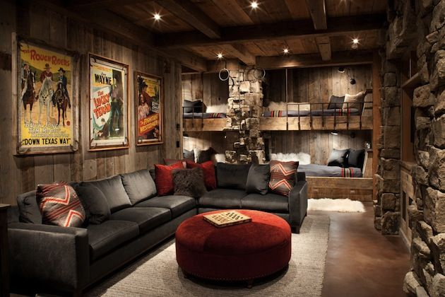 "21 Masculine Man Cave Ideas (6) -- it says ""man cave"" but I think some of these ideas are awesome too!"