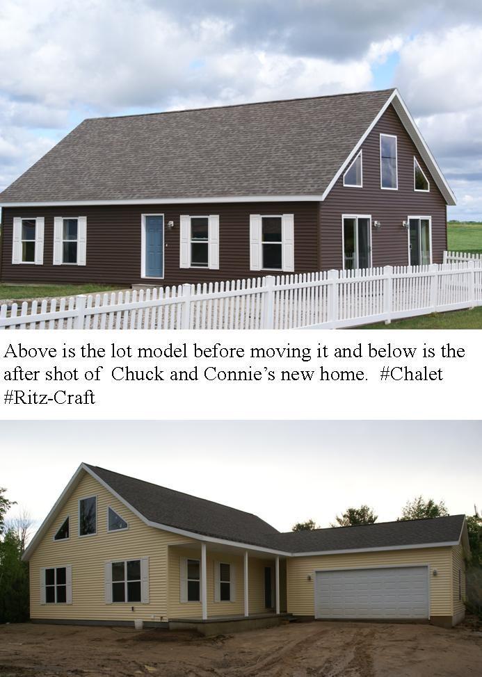 Chuck model homes