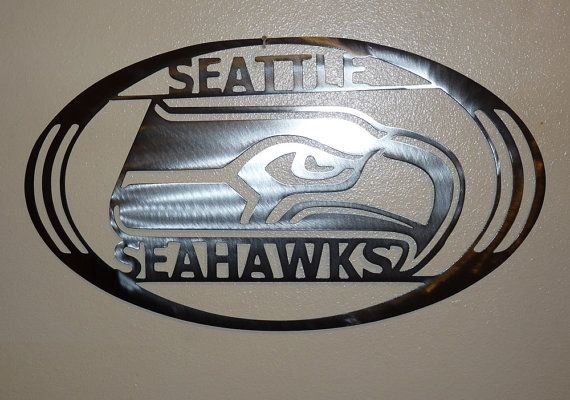 seattle seahawks metal art wall home decor by - Seattle Home Decor
