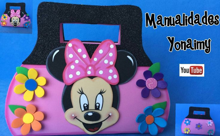 1000 images about minnie y mickey mouse on pinterest - Manualidades minnie mouse ...