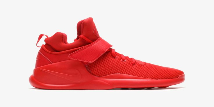 Nike has added a brand new model to its lifestyle sneaker lineup, the Kwazi, which combines the look of a Roshe with the technology behind the Huarache and garnishes it with a sprinkle of the Air Yeezy 2.    In simple but bold colors, the shoe sports a breathable