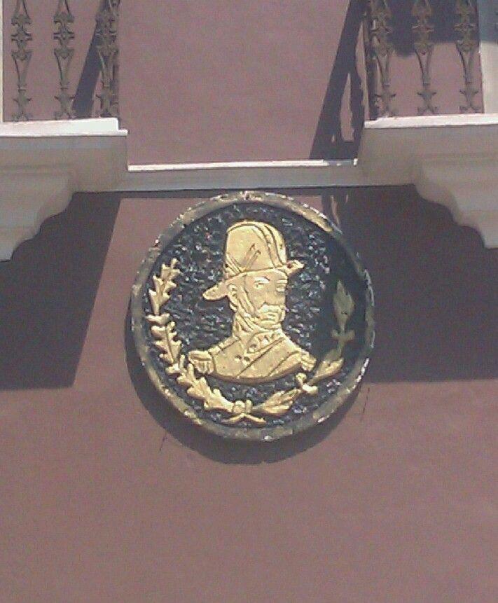 Sello decorativo con Ignacio Allende