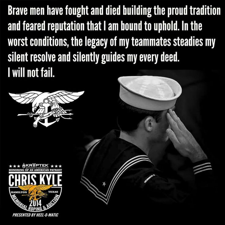 The Navy SEAL Creed