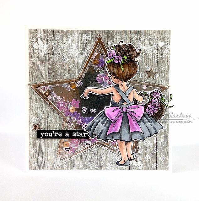 flower-girl-mos-digital-pencil-cardmaking-Olesya-Kharkova