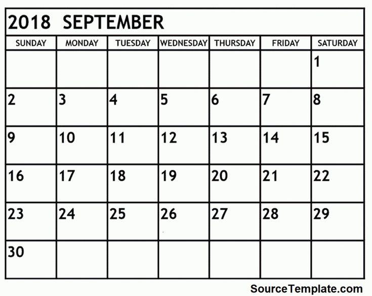 September 2018 Calendar with Holidays     https://sourcetemplate.com/september-2018-calendar