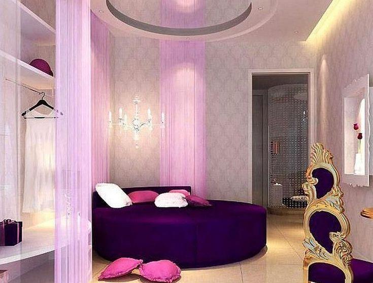 Pictures of purple bedrooms