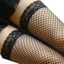 Ladys Сексуальное Женское Белье Ажурные Чулки Кружева Топ Бедренной Кости Высокие Чулки Сексуальные Женщины Чулки Calcetines Mujer Chaussettes Верхние(China (Mainland))