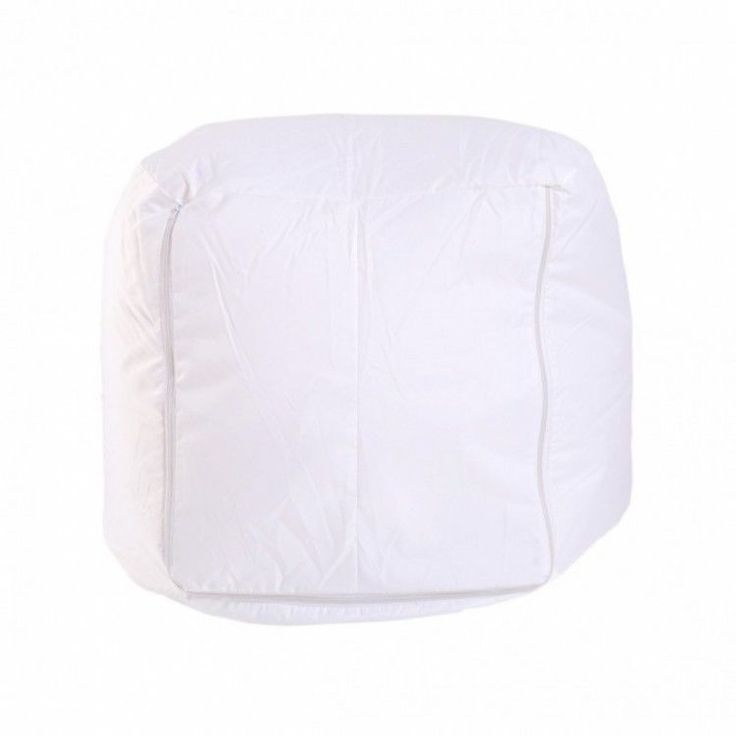 Home Modern Stool Seat Chair Pouffe Living Room Beanbag Soft Comfort White Sack #HomeModernStool #Modern