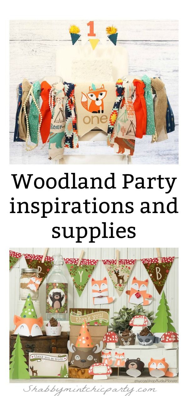 Gender Neutral Woodland Party Ideas And Inspirations Woodland