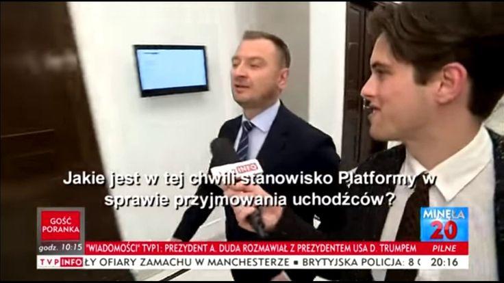 """Sławomir Nitras """"napadnięty"""" przez dziennikarza w Sejmie"""