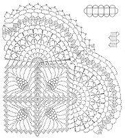 Crochet Xailes: Grátis padrão de crochet envoltório