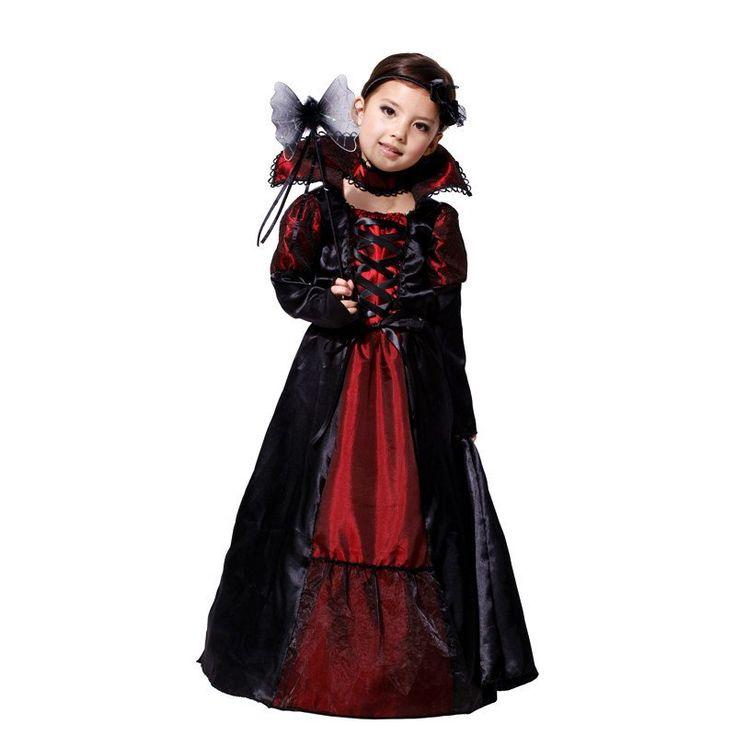 Vampire Queen Children Costume