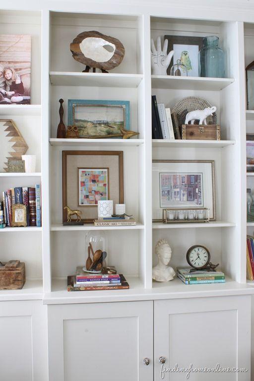 80 best diy home decor images on pinterest book shelves for Cute bookshelf ideas