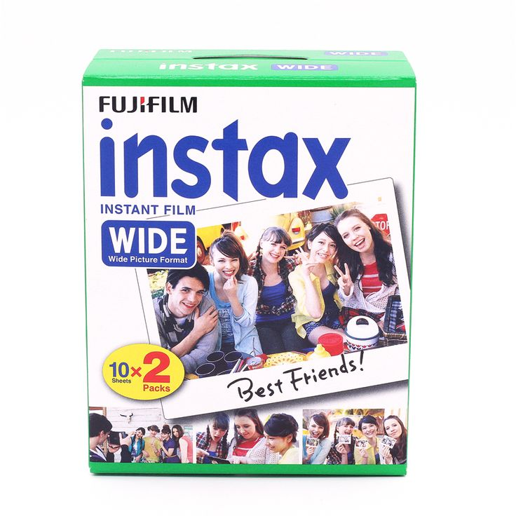 >> Click to Buy << Brand New Fujifilm Instax Wide Film Plain Edge Twin Packs (20 Photos) for Instant Photo Camera Instax 200 210 Free Shipping #Affiliate