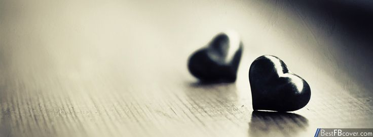 Best Facebook Cover : Black heart facebook cover best fb