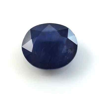 Lab-Created Sapphires 122958: 2 47Ct 9 0Mm X 7 0Mm Oval Cut