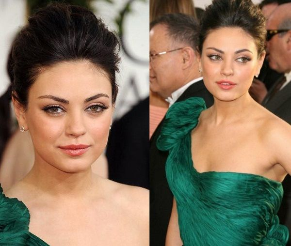 How To Do Makeup With Green Dress For A