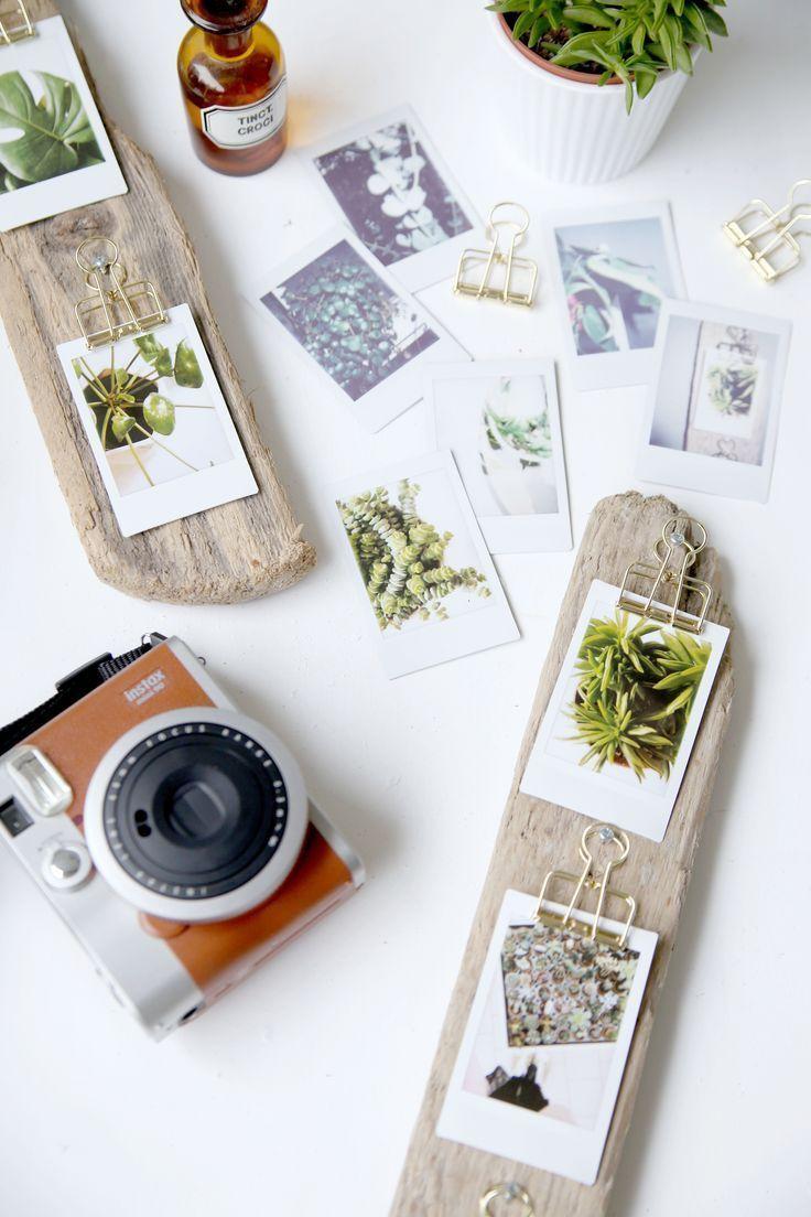 DIY, Deko, Design   Instax diy, Diy photo frame, Diy presents