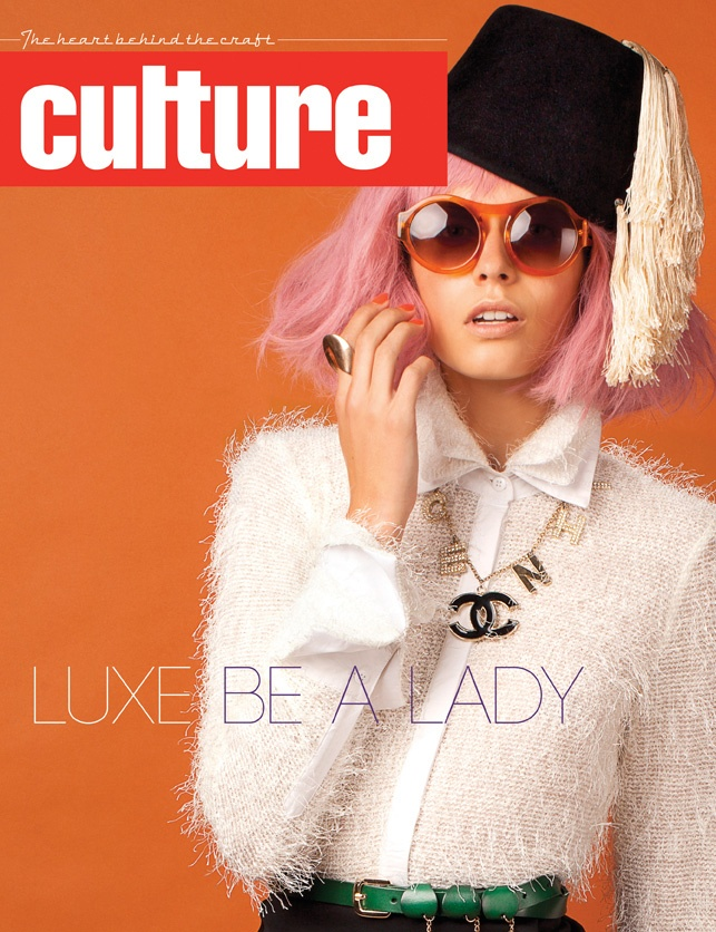 Luxe Be A Lady - April//May 2012