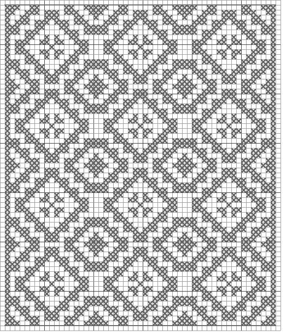 FILET CROCHET PATTERN FREE ALPHABET | Crochet and Knitting Patterns