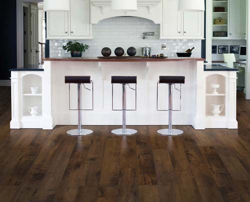Laminate Flooring On Kitchen Walls