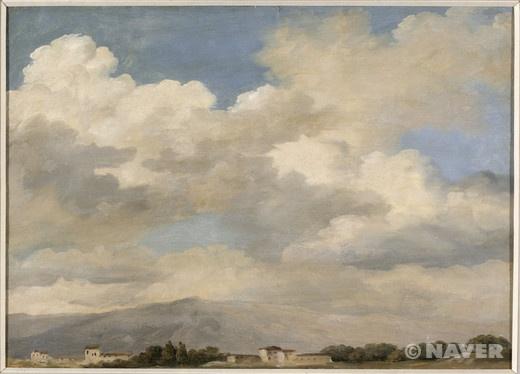 퀴리날리스 하늘 습작 (Etude de ciel au Quirinal) 피에르 앙리 드 발랑시엔(Pierre-Henri de Valenciennes)