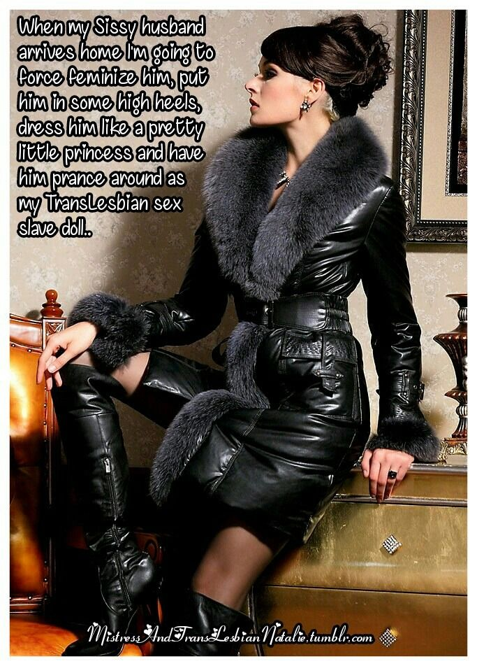 Mistress enjoys milking the masculinity out of him