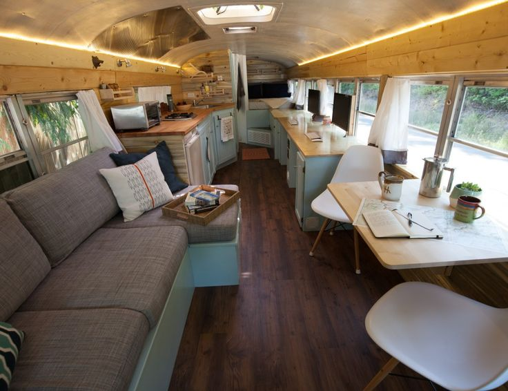 We spent several months designing and re-designing our school bus conversion layouts. See our attempts, failures, and ultimate winner!
