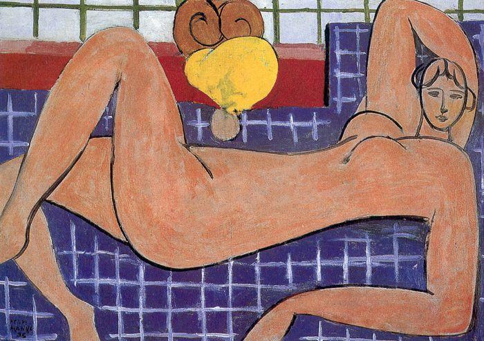 Henri Matisse Large Reclining Nude 46