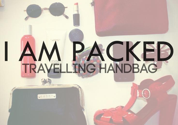 Travelling Handbag! xx