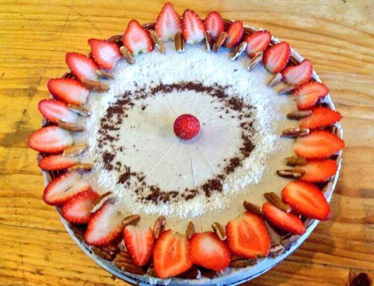 #FabulousFriday #raw blueberry   #cheesecake