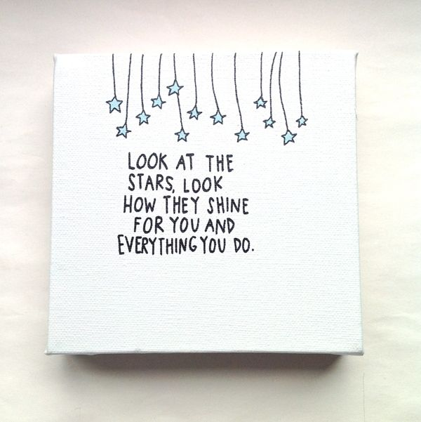 Quotes on Canvas by Anya O'Hagan, via Behance