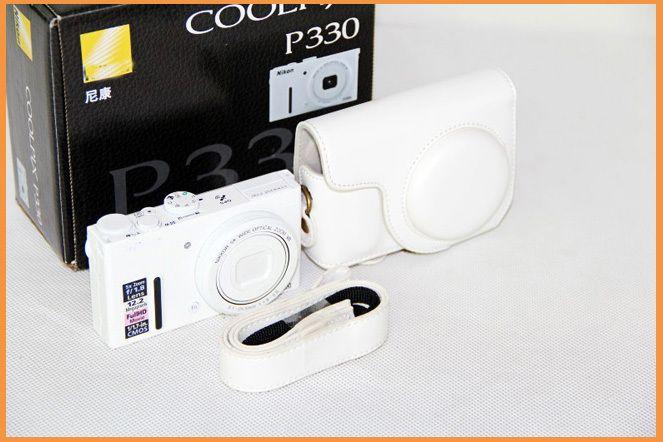 PU Кожаный Чехол для Камеры Сумка для Nikon P340 P330 P310